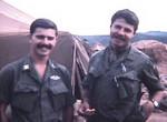 Capt Collins(r) & Lt Terry Falck(l)