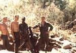 B Co's attached 81mm mortar crew (r) PFC Ralph Harry Barlett Jr KIA 11/11/67 on Hill 724