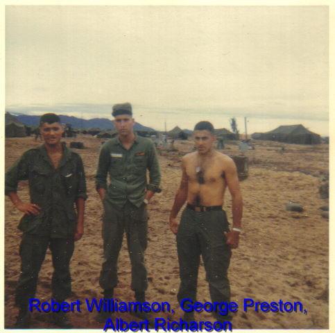 Robert Willamson, George Preston, Albert Richardson