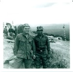 Rich Murray and ARVN Soldier
