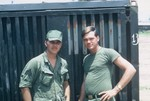 Sgt Joe Wells and John Kell