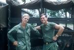 Sgt Ken Jacobson and John Kell