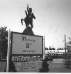 Ole Ft. Lewis 3rd/8th Infantry Dragoon Sign