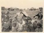 Doc with Montagnard children, Ben Hit