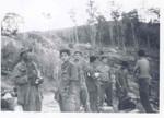 3rd Platoon, Robert Saunders, Tommy Hurdeo, Dennis Fritz,Unknown, Bill Fromwiller, Juilo Leon, Carl Hicks
