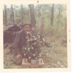Wayne Jackson with his Christmas Tree 1968 VC Valley