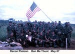 Recon Platoon May 67