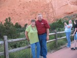TOURING THE GARDEN OF THE GODS
