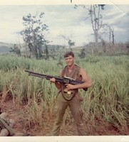 Highlight for Album: Jim Verkuilen C/3/8 1960-1970 Third Platoon-First Squad's Rambo